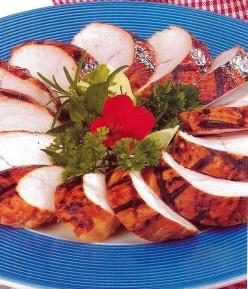 Grilled Low-fat Turkey