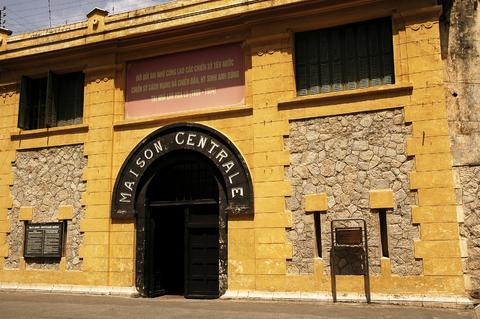 "The dreaded Hoa Lo prison, known as the ""Hanoi Hilton!"""