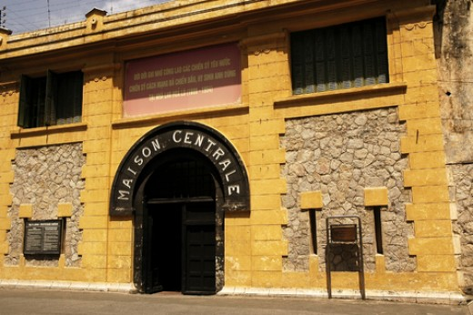 "The dreaded Hoa Lo prison, known as the ""Hanoi Hilton!"""