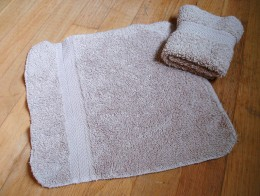 The ubiquitous washcloth