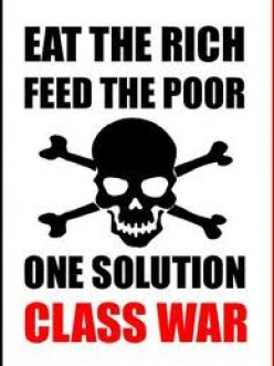 "Obama Switch:  ""Eat Your Peas"" To ""Eat The Rich"""