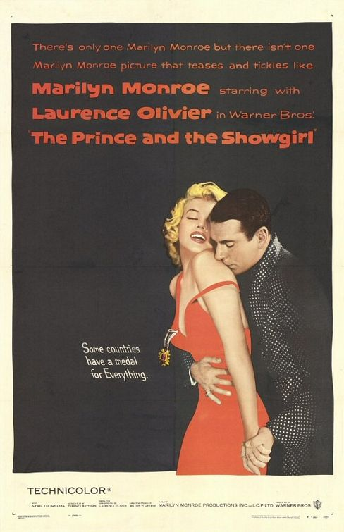 The Prince and the Showgirl Poster