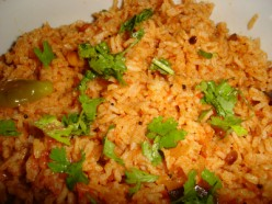 How to make tasty Tomato rice or Thakkali Sadham South Indian Tamilnadu or Madras style recipe