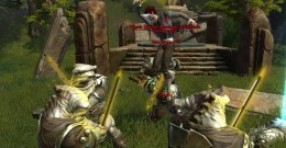 SWTOR Force Sweep Flesh Raider Chieftain and his minions in Enemy Force Quest