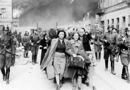 Innocents taken prisoner during the Warsaw Uprising