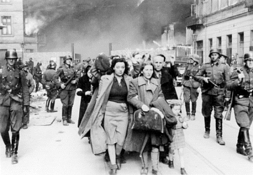 Innocents taken prisoner during the Warsaw Uprising
