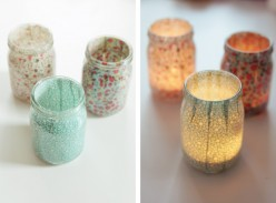 DIY: Cute Votives For Home
