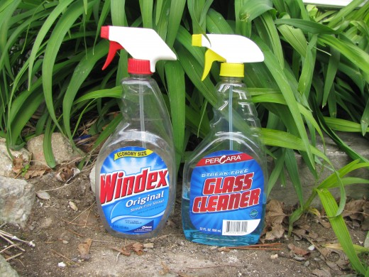 Windex or window cleaner?