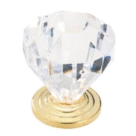Another versatile knob, this acrylic crystal will look good in almost any kitchen.