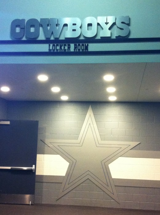 Dallas Cowboys Locker Room