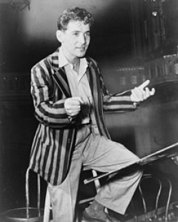 Leonard Bernstein conducting the New York City Symphony (1945)