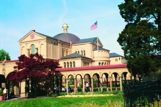 Franciscan Monastery, 1400 Quincy Street, Washington, DC
