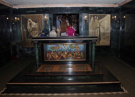 The Purgatory Chapel altar
