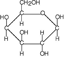 Molecular Structure of Galactose