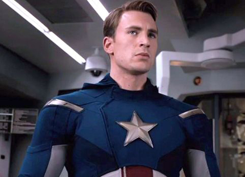 Captain America in the Avengers