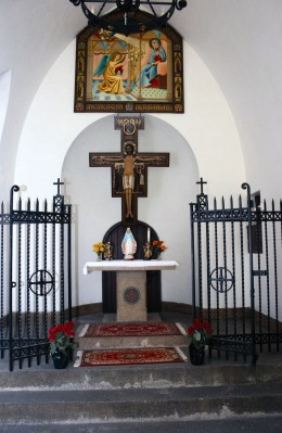 Altar in the Portiuncula Chapel
