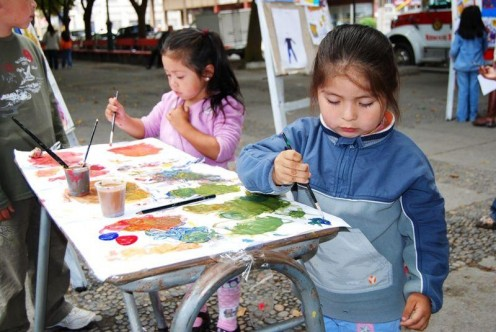 Arts and crafts are a favorite summer time activity and are very inexpensive.  Why not encourage your children to be creative and make pictures, projects, and gifts for Mother's Day and Father's Day?