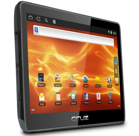 The Velocity Micro Cruz is a cost-efficient alternative to more-pricey tablets and readers.