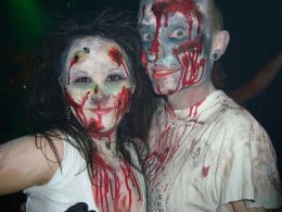 You might even bet that the two of you are attacked by zombies!
