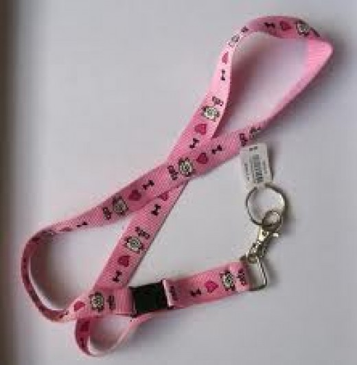 example of a cute lanyard