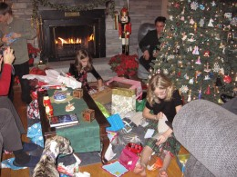 Christmas at Mary's house