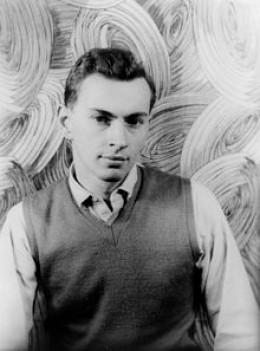 Photo of Vidal by Carl Van Vechten, 1948