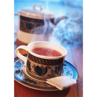 steeping tea in a covered teapot helps to more fully release the tea's potential flavor and effect