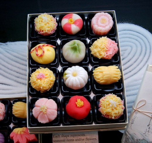 Some Japanese Sweets.