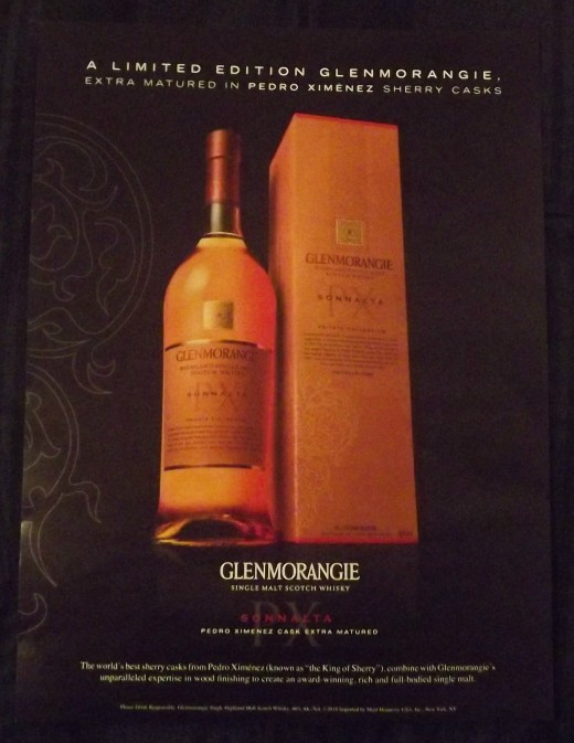 2010 Glenmorangie Single Malt Scotch Whisky Print Ad