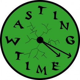 This is what your clock looks like when you're in the forums.