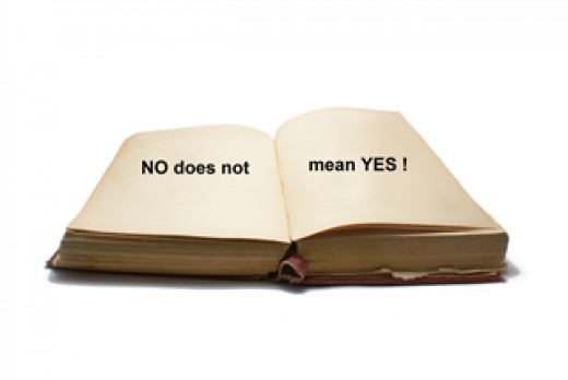 No does not mean Yes!
