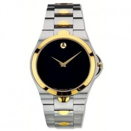 Men's | Two-Tone | Gold | Stainless Steel