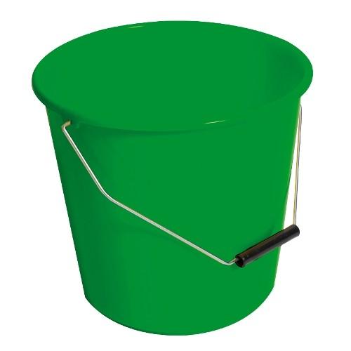 A green bucket