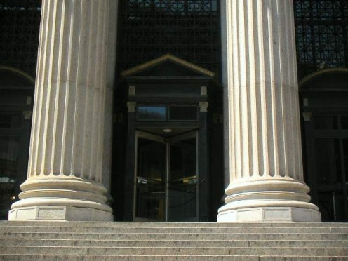 U.S. General Post Office entrance