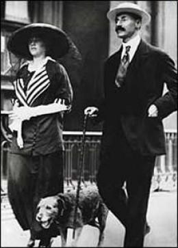 John Jacobs Astor IV & his wife Madeline