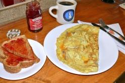 A Breakfast omelet