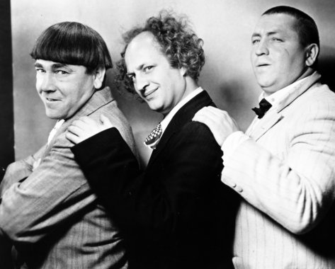The real stooges in 1934