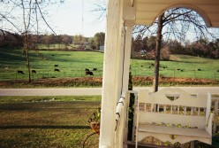 My Front Porch View in the Country ~ A Poem