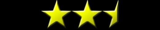2 and a half stars