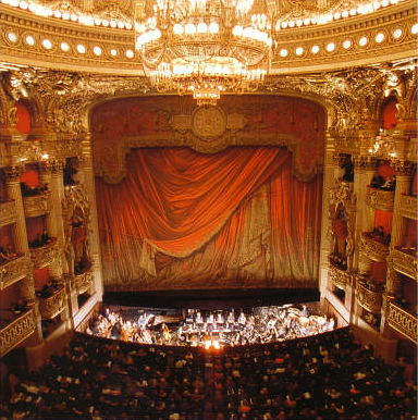 The magnificent interior of one of the world's top opera houses