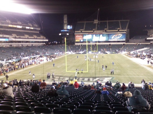 2010 - Vikings at Eagles - Lincoln Financial