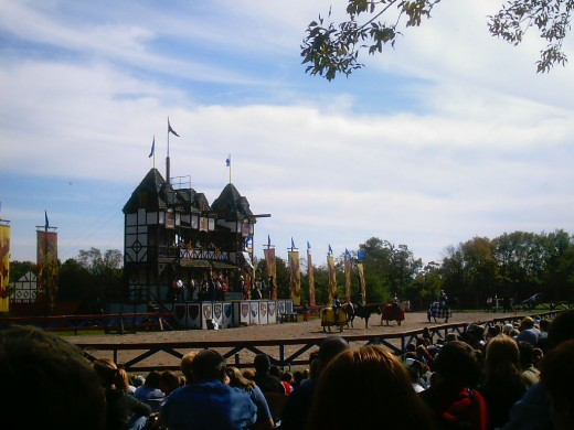 Pennsylvania Renaissance Faire - jousting
