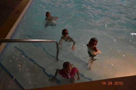 Our kids love to swim at the hotel