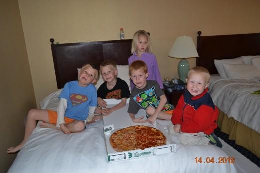 Kids love hotels!