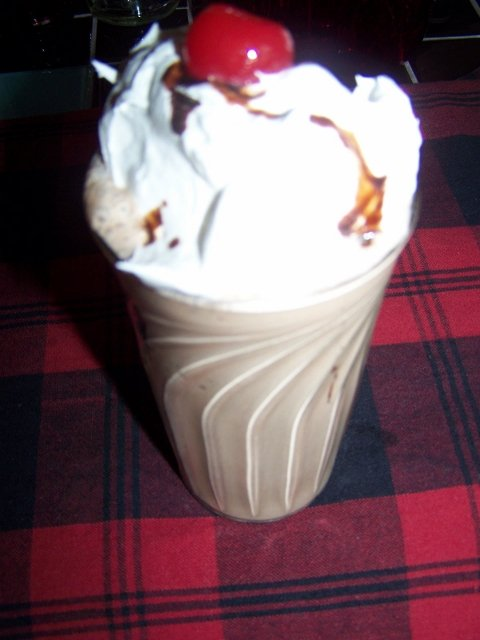 My Frosty Chocolate Cherrie Shake Recipe