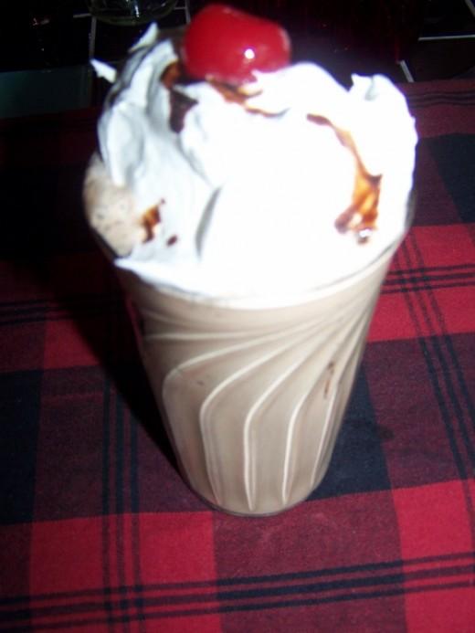 My Frosty Chocolate Cherrie Shake Recipe