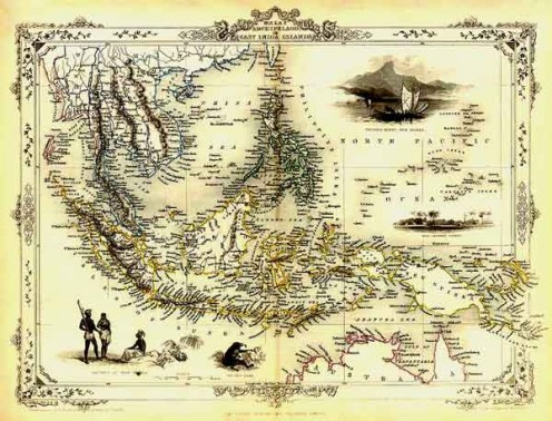 MALAY ARCHIPELAGO WHERE WALLACE DID HIS RESEARCH