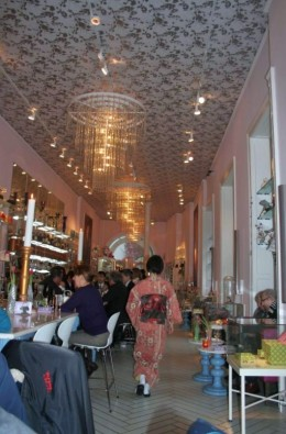 Stylish Interior of the Royal Cafe