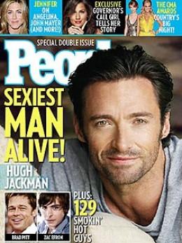Hugh Jackman Sexiest Man Alive 2008
