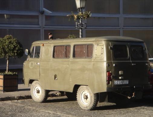 UAZ: Twinkie on wheels